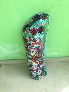 My very own yoga mat from India