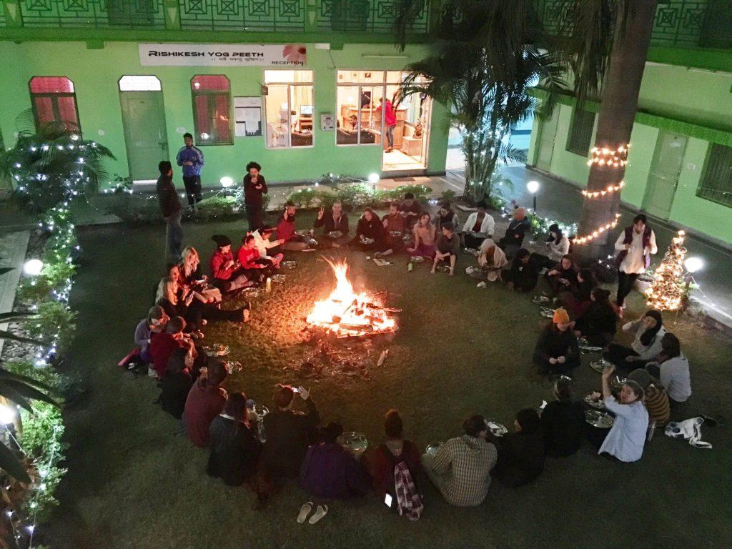 Christmas at Rishikesh Yog Peeth
