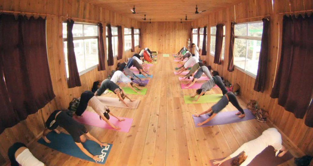Yoga Class at Yog Peeth