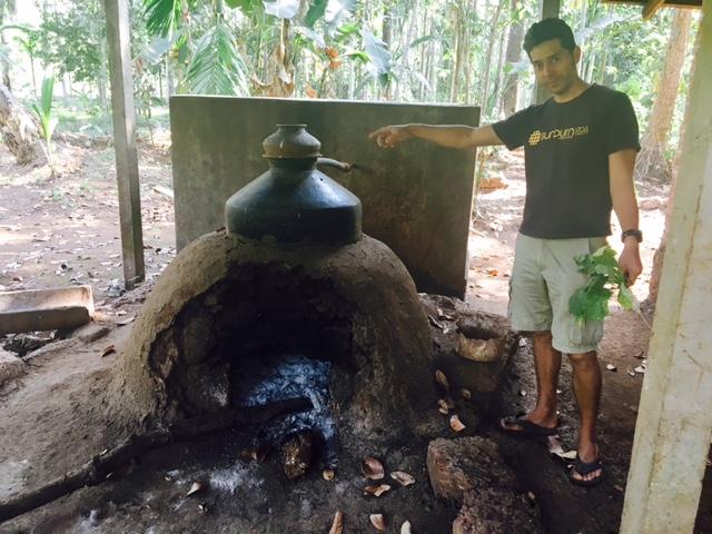Ashok and the cashew feni distillery