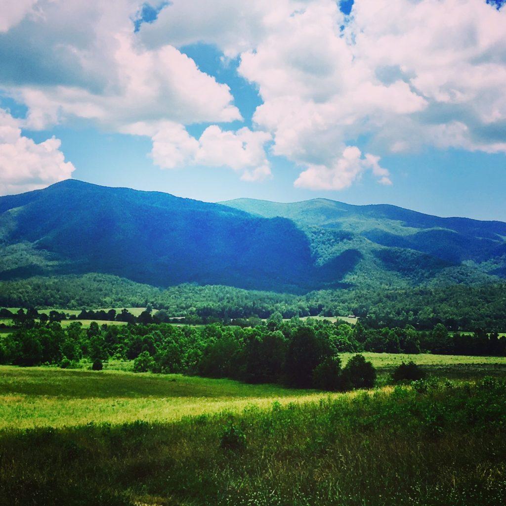 Somewhere near the Smoky Mountains