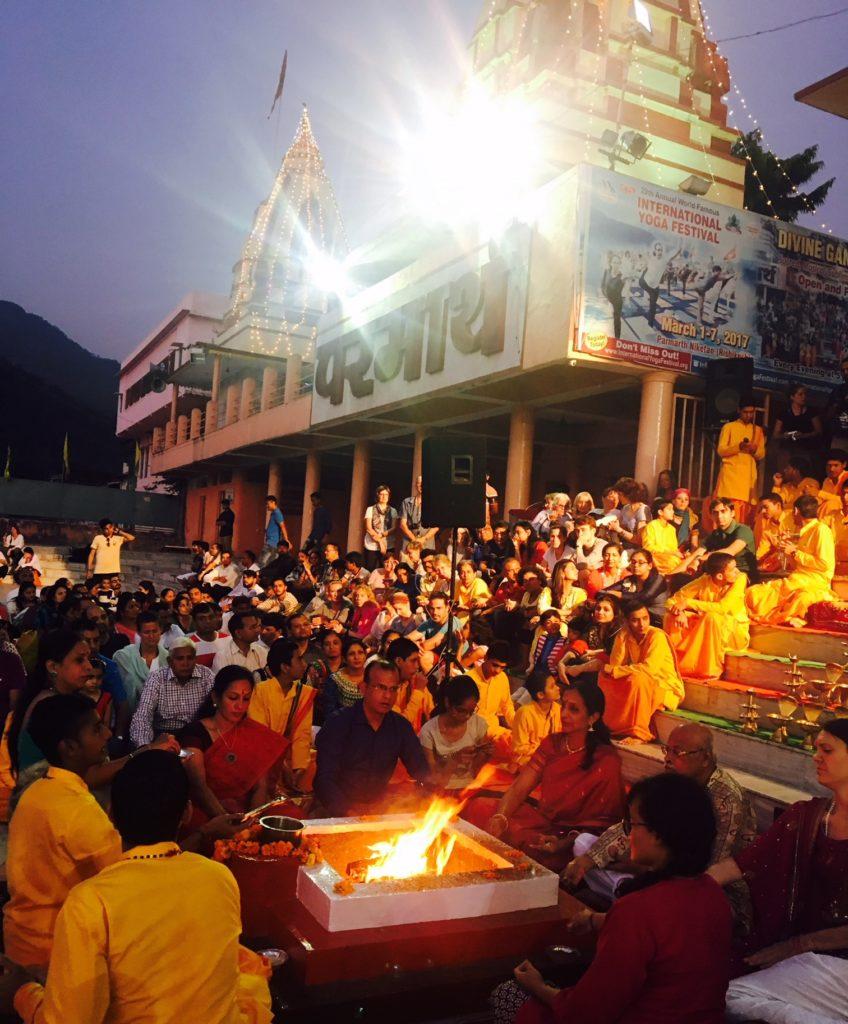 Evening Aarti in Rishikesh