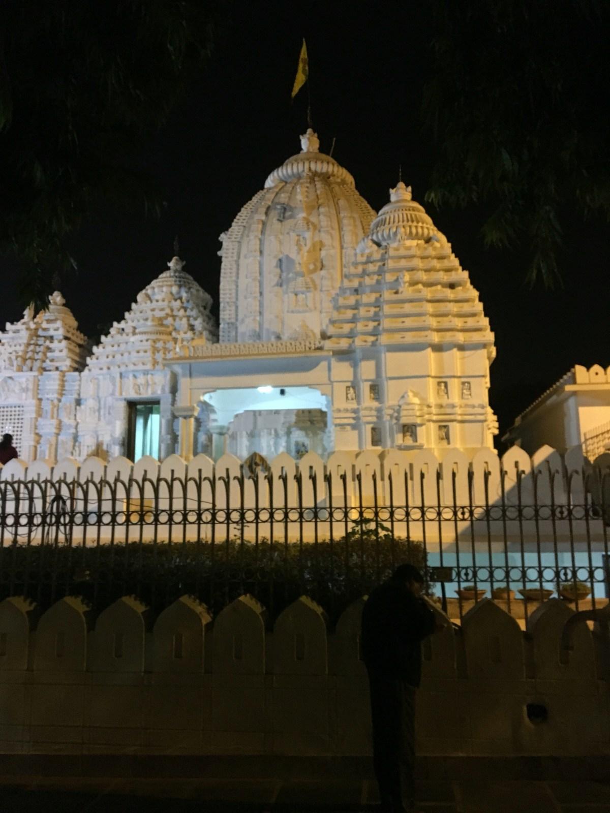Temple near HKV in Delhi