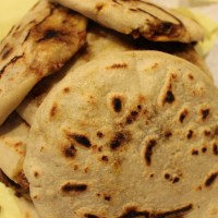 Pupusas: Cheese-Stuffed Tortillas