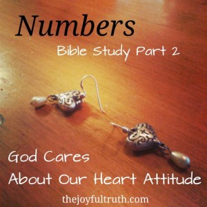 Numbers: God Cares About Our Heart Attitude
