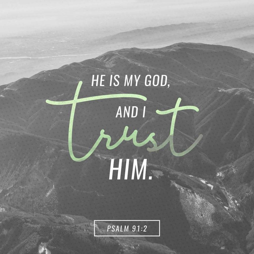 I trust Him with everything and all of me! youversionhellip