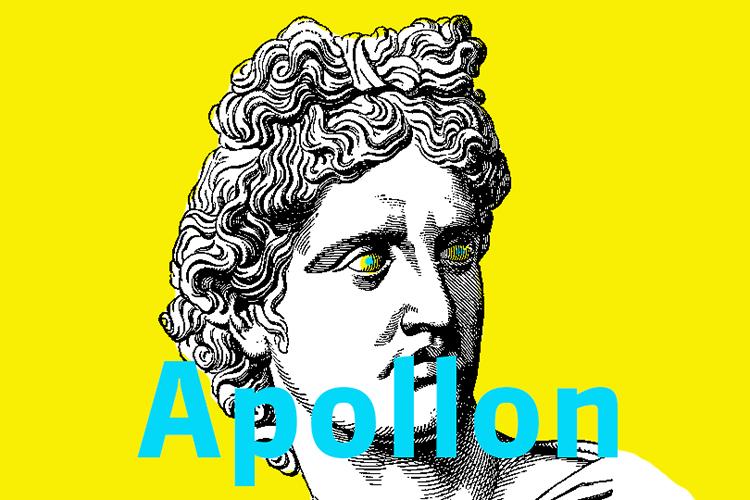 Lumineux Apollon, le plus beau des dieux