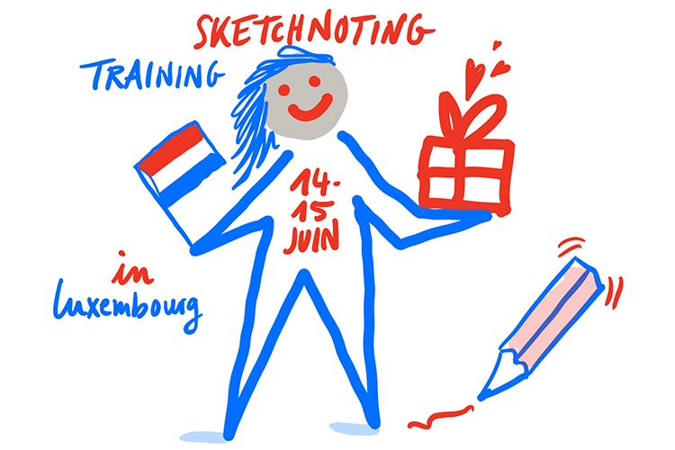 Formez-vous au sketchnoting à Luxembourg
