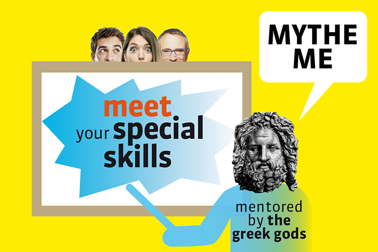 MytheMe, meet your special skills mentored by the greek gods