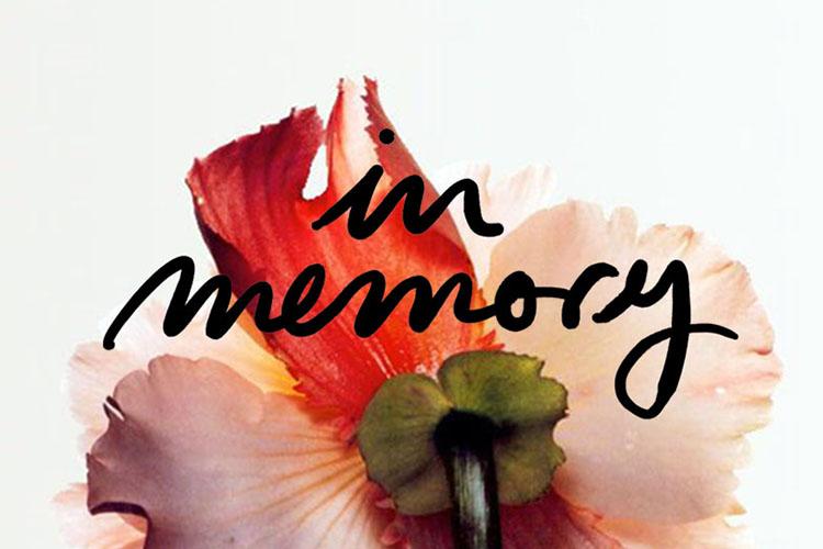 In memory & gratefulness