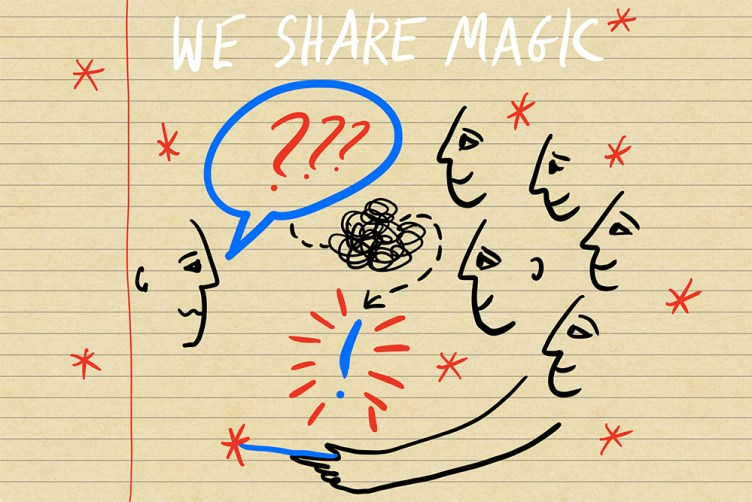 We share Magic