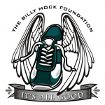 The Billy Mock Foundation matched the number of socks collected by St. Thomas the Apostle School.