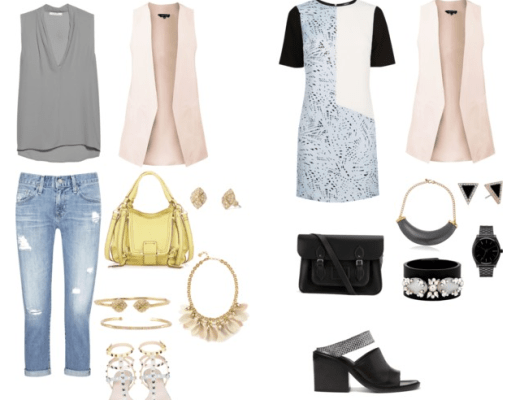 Sleeveless Blazer