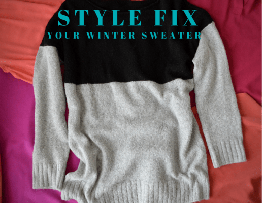 Style Fix your sweater cover