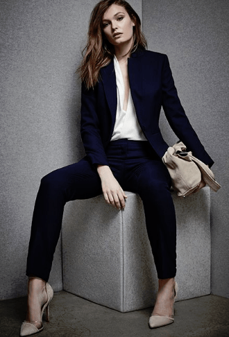 suits with non-black shoes