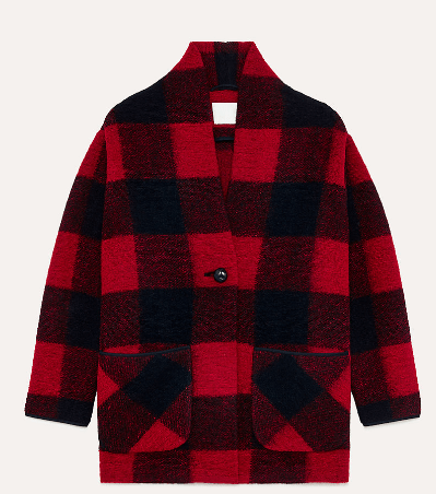 Autumn Fashions plaid jacket