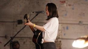 Caption: Mitski performing at Market Hotel back in November 2016. Photo Credit: Kellie Zhao