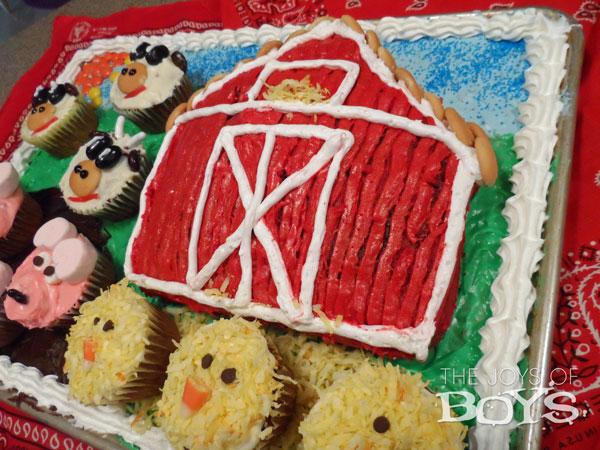 Farm Themed Birthday Party Baby's First Birthday Bash