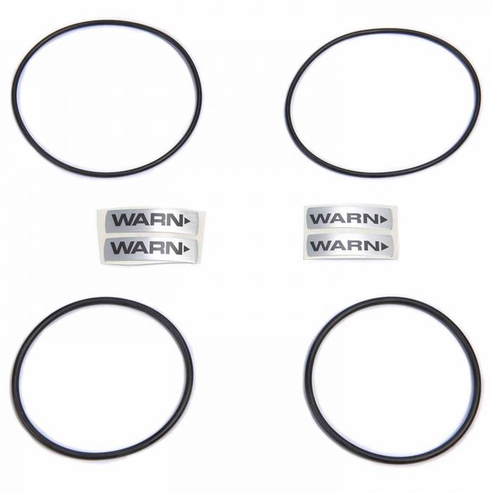 Warn Hub Part #29070 29071 With Snap Rings Gaskets