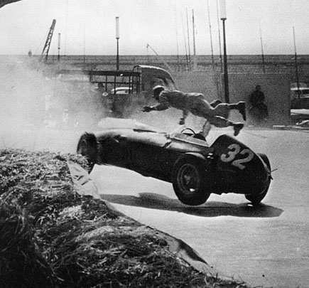 Allison's crash during the 1960 Monaco Grand Prix