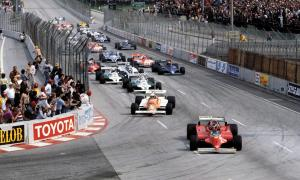 Long Beach Grand Prix Villeneuve