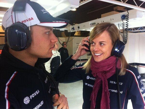 Watch your back Valtteri. She may be a Wolff in sheeps clothing