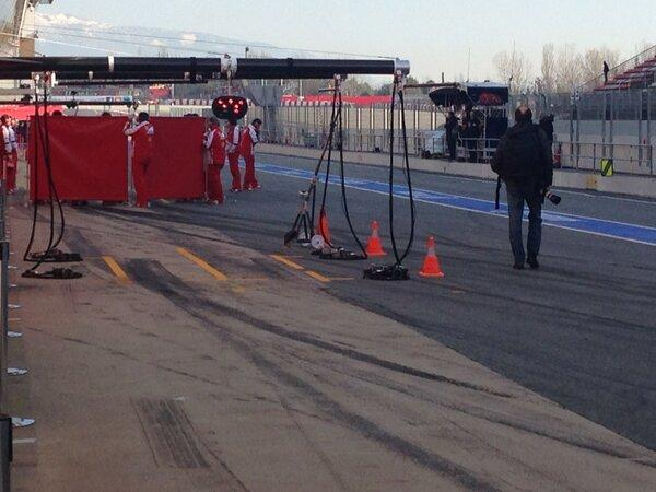 Unprecidented secretive behaviour this year at testing