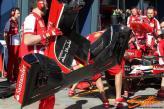...interesting detail under the Ferrari nose