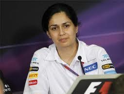 Monisha Kaltenborn F1