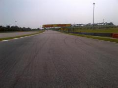 Here the UV is punishing even though not sunny - On to turn 4..
