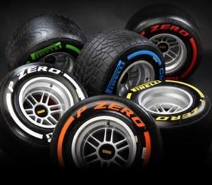 2013 Pirelli Formula 1 Tyres