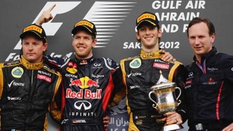Bahrain 2012 podium