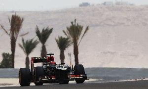 Kimi Raikkonen during practice for the Bahrain Grand Prix