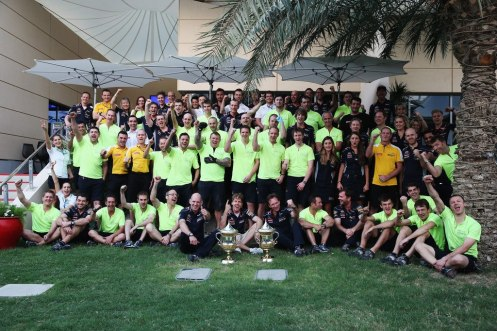 Red Bull Racing Bahrain Celebration Photo
