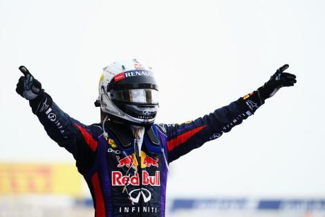 Sebastian Vettel Conquers Bahrain 2013