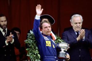 Keke Rosberg Monaco Podium © TheTimesUK