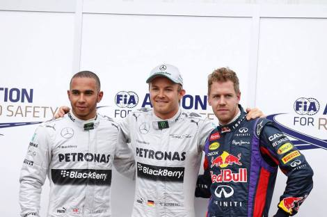 Nico Lewis Sebastian  © Formula1.com