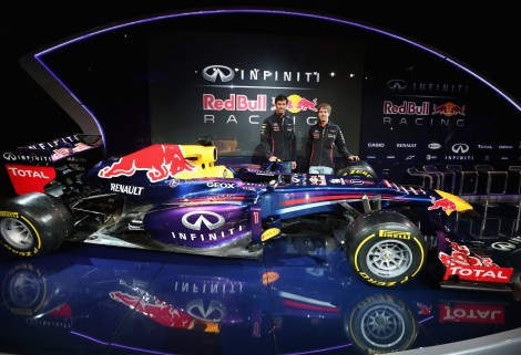 Infiniti Red Bull Racing RB9 Launch © Red Bull