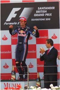 Mark Webber British GP 2010 © Adrian Hoskins