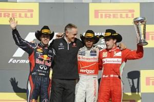 Austin GP 2012 podium