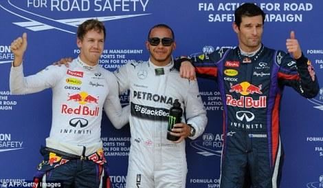 German Grand Prix Qualifying 2013