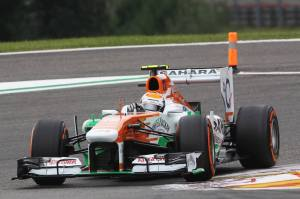 Belgium Grand Prix Adrian Sutil