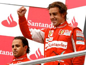 Fernando and Felipe © Ferrari