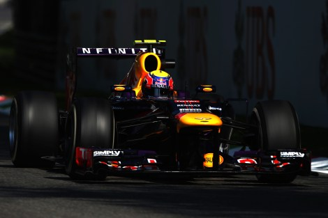 Mark Webber Italian GP Monza 2013 © Red Bull