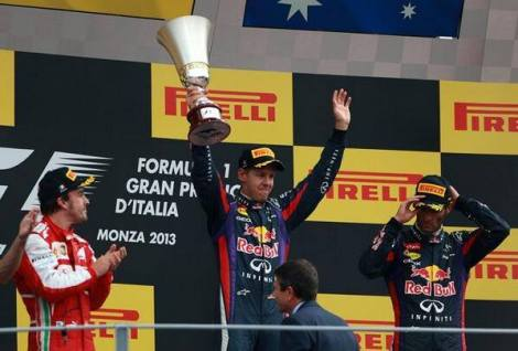 Monza Podium 2013