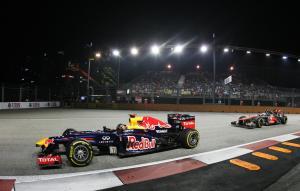 Sebastian Vettel Singapore 2012