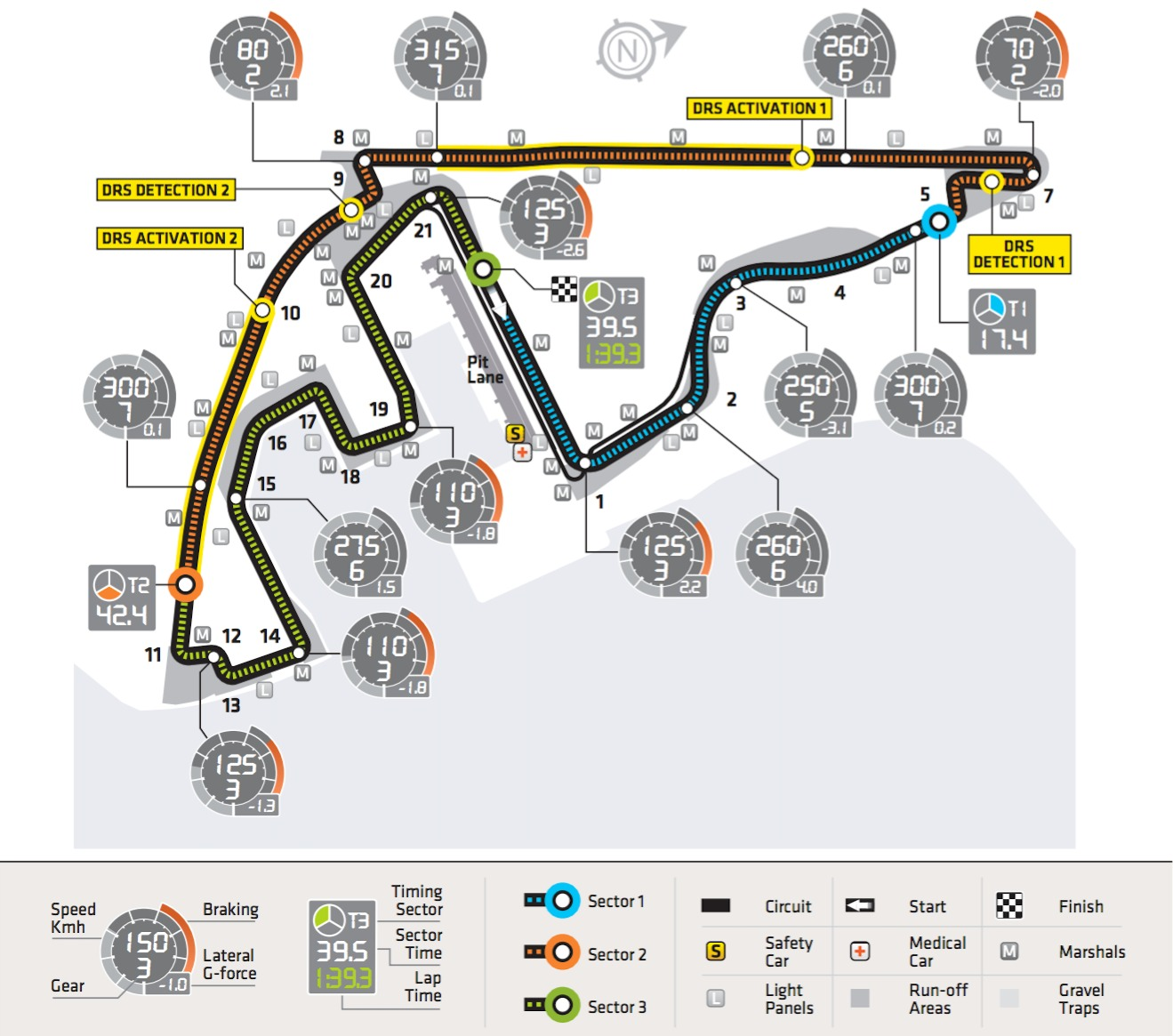 F1 Circuit Profile - 2013: Abu Dhabi, Yas Island, Yas Marina Circuit on bahram map, eclipse map, alborz map, venus map, yall map, yak map, topaz map, rising sun map,