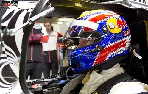 Mark Webber in the new office