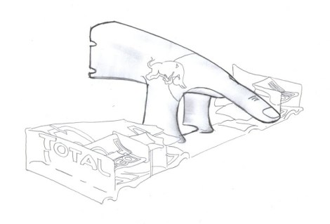 An f1technical.net user predicts this to be the nose design of the RB10