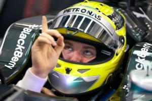 Bahrain 2nd test 2014 - Rosberg